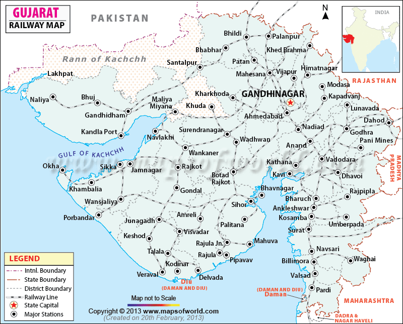 GUJARAT-RAILWAY-MAP