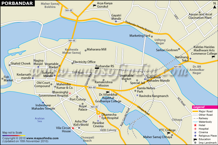 porbandar-city-map