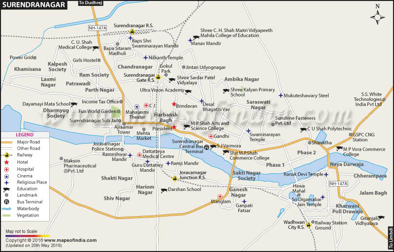 surendra-nagar-map